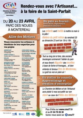 177E Foire De La Saint-Parfait - Agenda - Chambres De Métiers Et De
